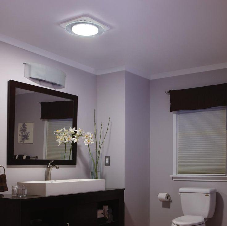 New Bathroom: Broan LED Light/night Light/ Fan
