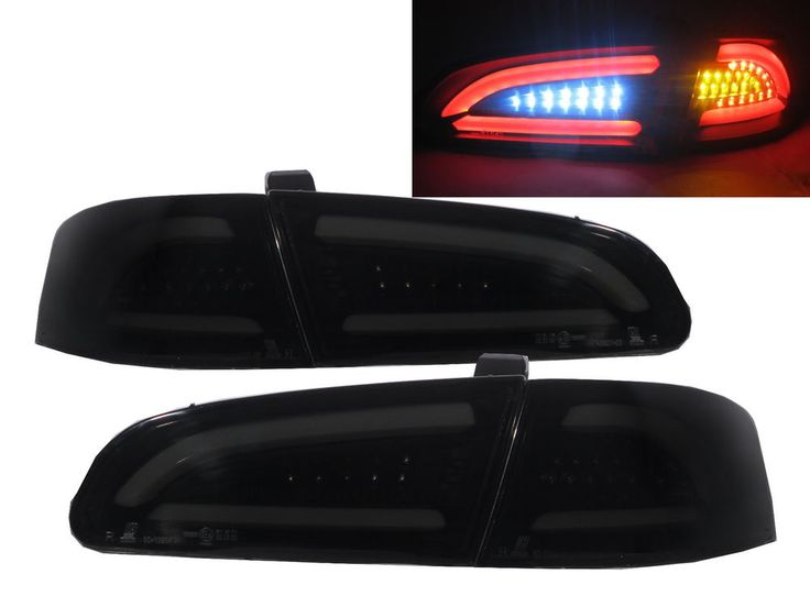 IBIZA 6L 2002-2006 LED BAR Feux Arrieres V2 SMOKE for SEAT