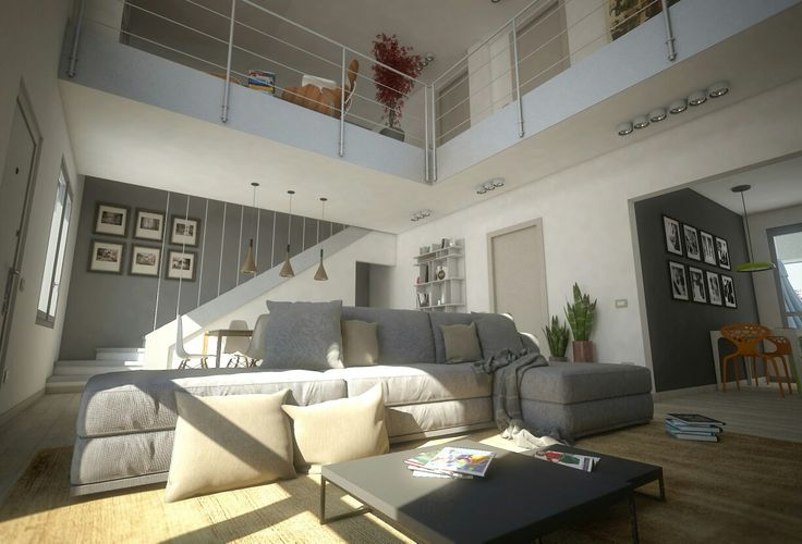#ivanrivoltella #project #rendering #3d #visualizationarchitecture #concept #interiordesign #loft #living #archviz #arch.Agliati