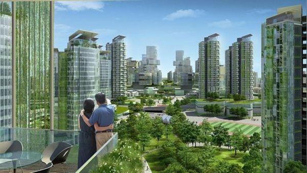 Breathtaking Future City Concept Art (14)