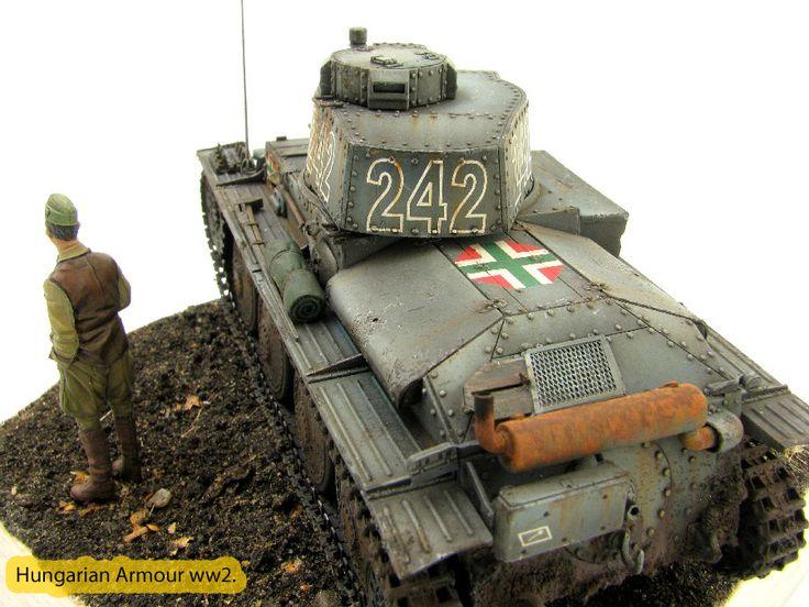 Pz 38.t makettje.