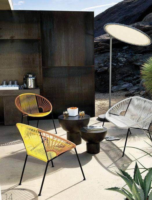 18 Style Focused Ways To Decorate Your Patio For Summer. Patio PicturesOutdoor  PatiosOutdoor SpacesOutdoor LivingDeck FurnitureRoof ...