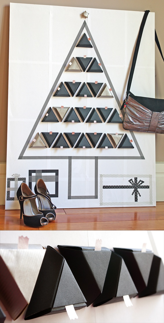 DIY Advent Calendar with FREE Template and Step-by-Step Tutorial