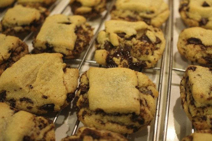 Triple-Layer Chocolate Chunk Cookies