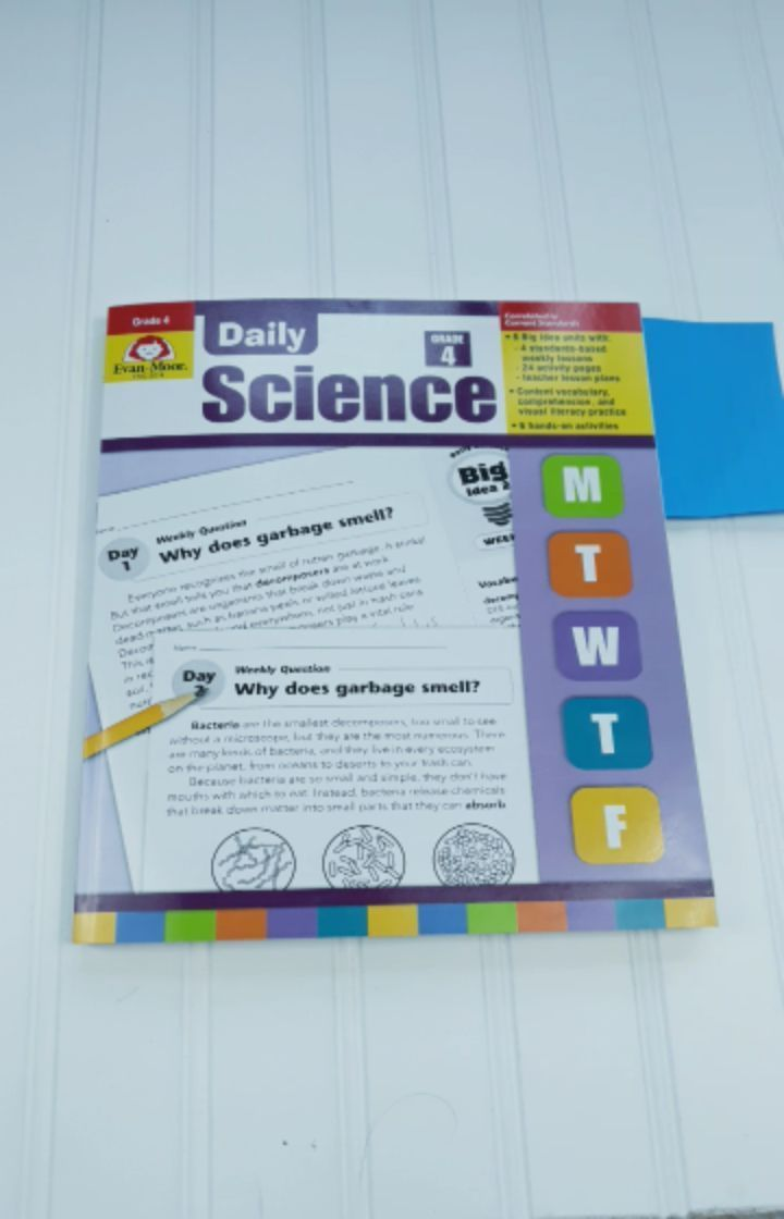 Video Review of Daily Science Grade 4 from #evanmoor Daily