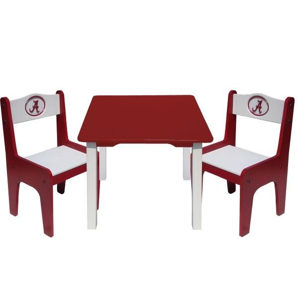 Fan Creations University of Alabama Table   Chairs Set   Kids Furniture  Showroom. 106 best Alabama Gear images on Pinterest   Alabama crimson tide