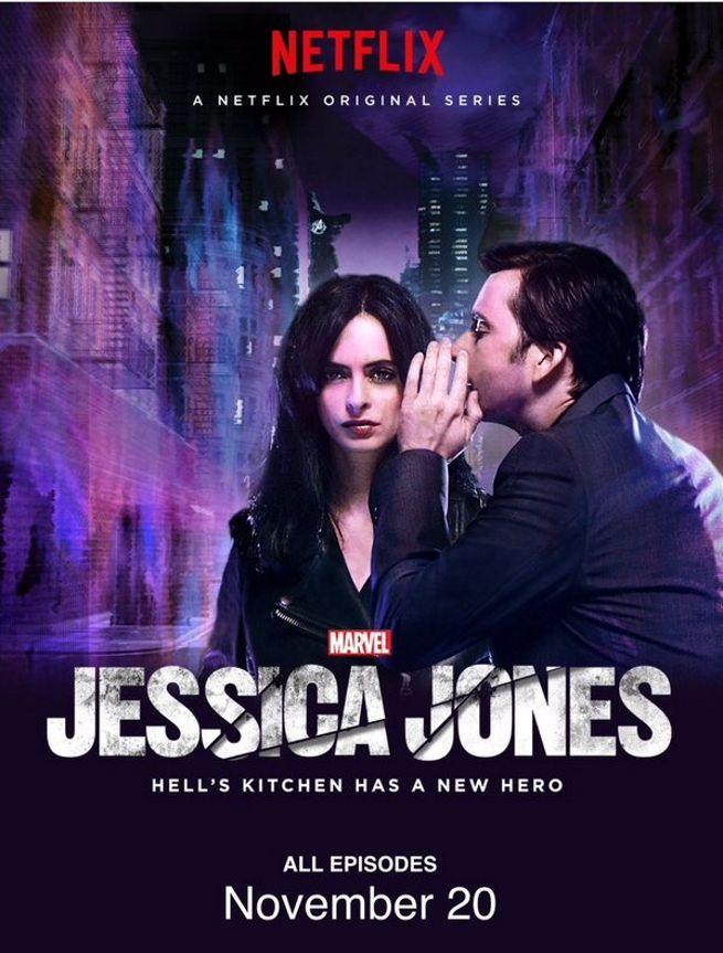 [Marvel] [Jessica Jones] Nouveau poster de la série Marvel