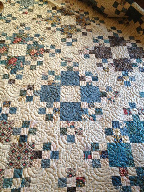 Laundry Basket Quilts Blog | Today's Quilts, Tomorrows Memories.  Wow I love this one!