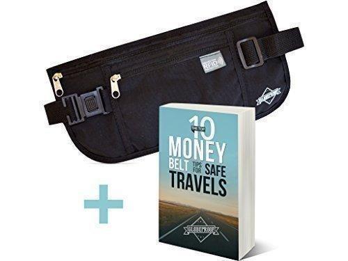 Oferta: 14.99€ Dto: -40%. Comprar Ofertas de Cinturón negro para dinero con protección RFID - Cartera de viaje oculta para hombres y mujeres - Riñonera discreta hecha por barato. ¡Mira las ofertas!