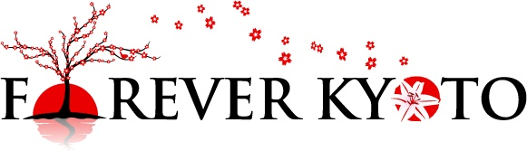Forever Kyoto Logo - Symbolized by the sakura.  The cherry tree blossom.