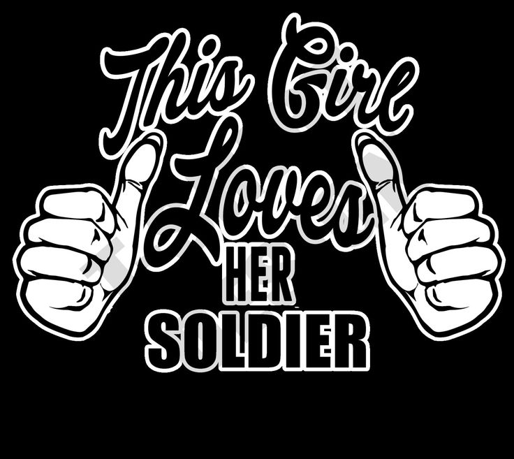 This Girl Loves Her Soldier - PNG T-shirt design by MugsAndAccessories on Etsy
