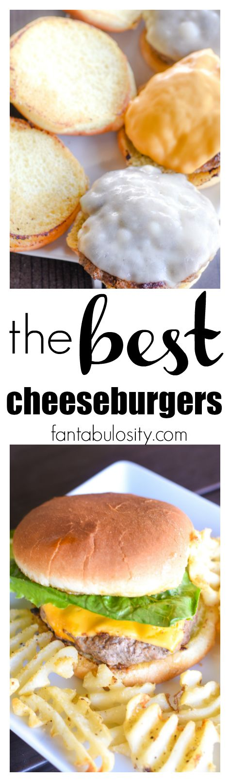 HOLY COW!!! This is the best cheeseburger recipe. My husband LOVED them, and they were so quick and easy too!