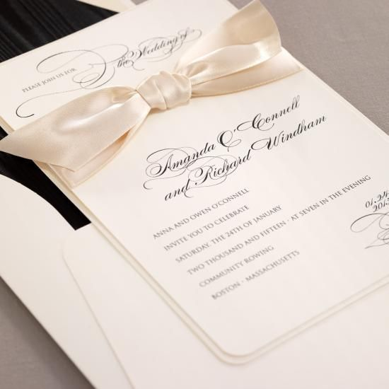 Impress Guests With These Stylish #Wedding Invitations. To see more: http://www.modwedding.com/2013/09/24/stylish-classy-wedding-invitations-092413/ #weddinginvitations