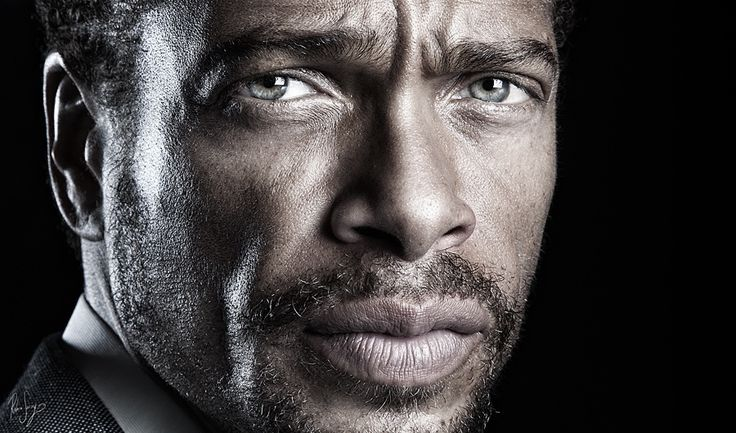 "Gary Dourdan - Promotional pics for the film ""Cobayas Human Test"""