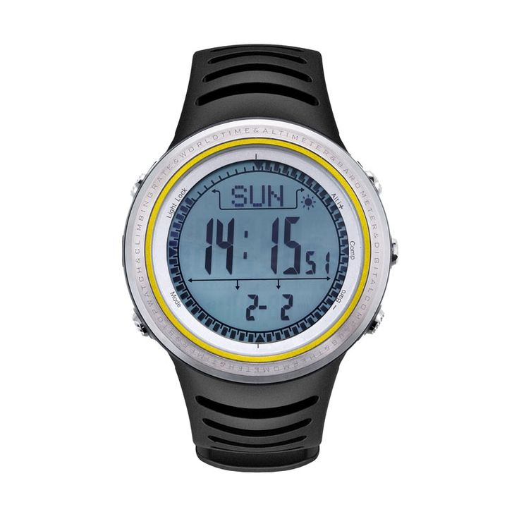 Sunroad Wasserdichten Outdoor-sportarten Smartwatch männer Digitale Backlit Schrittzähler Höhenmesser Barometer Kompass Stoppuhr Angeln Watch //Price: $US $106.13 & FREE Shipping //     #meinesmartuhrende