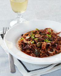 Two-Minute Calamari Sicilian Life Guard Style // More Seafood Recipes: http://www.foodandwine.com/slideshows/sustainable-seafood #foodandwine