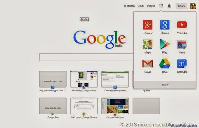Google Chrome latest 29.0.1547.76