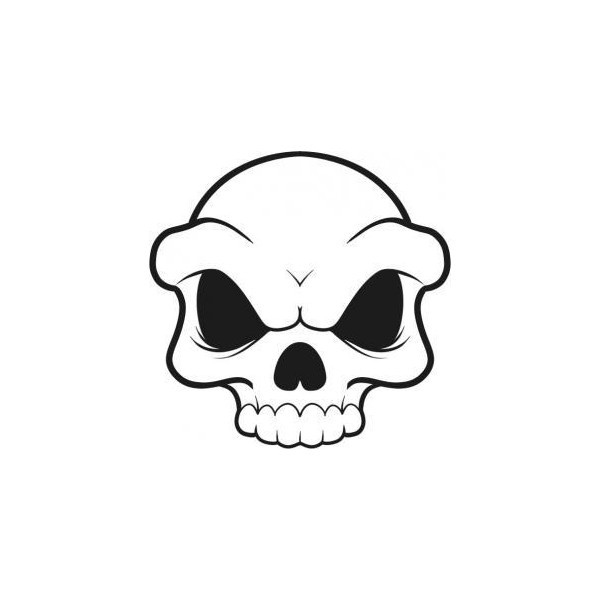 Best 25+ Simple skull drawing ideas only on Pinterest ...
