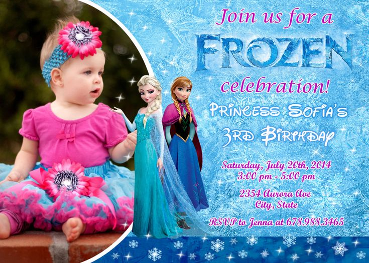 185 best frozen birthday theme images on pinterest birthdays disney frozen birthday party invitation by fantasticinvitation 899 stopboris Image collections