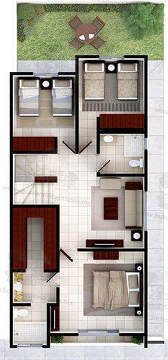 Venta de Casas en Cumbres - Modelo Galicia – Encuentra la mayor oferta de casas nuevas en venta con mensualidades desde $18,000. #fachadasminimalistaspequeñas