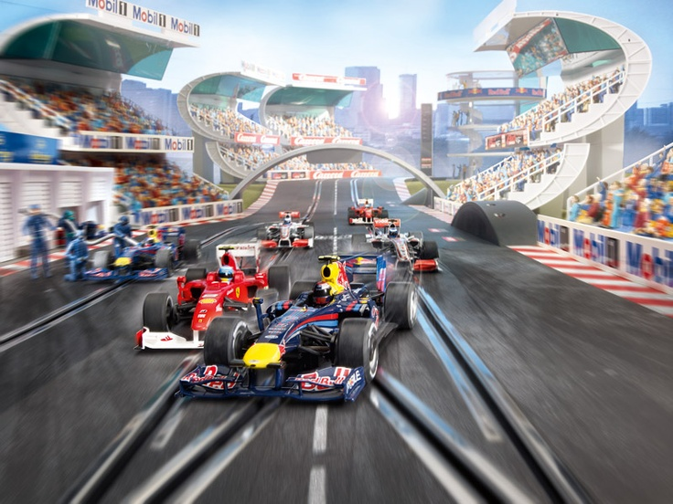 F1 slot cars, my inner child cannot contain his excitement ...