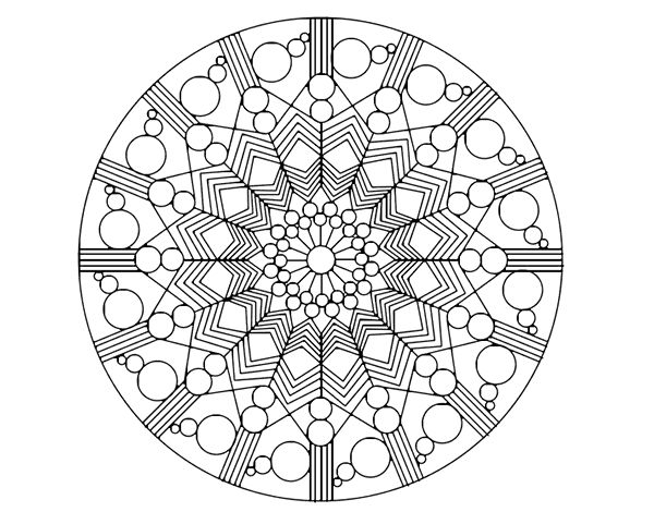 Cool Mandala Para Colorear Cool Mandalas Para Colorear De: 59 Best Images About Dibujos De Mandalas Para Colorear On