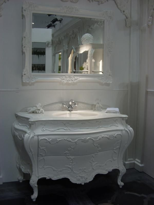 Photographic Gallery Dresser reused as bathroom vanity This is beautiful I love how they painted the dresser white