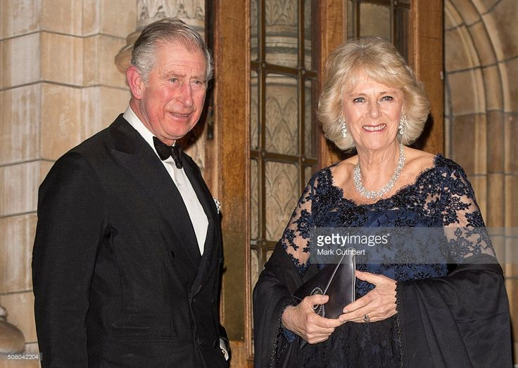 Prince Charles, Prince of Wales and Camilla, Duchess of Cornwall attend a reception and dinner for supporters of The British Asian Trust at Natural History Museum on February 2, 2016 in London, England.