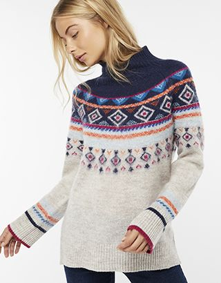 00972a2fe8 Melissa Multicoloured Fair Isle Jumper