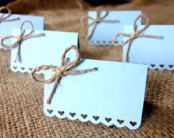 Hochzeit Tischkarten Satz von 50 Escort Karten Name von Loverlees