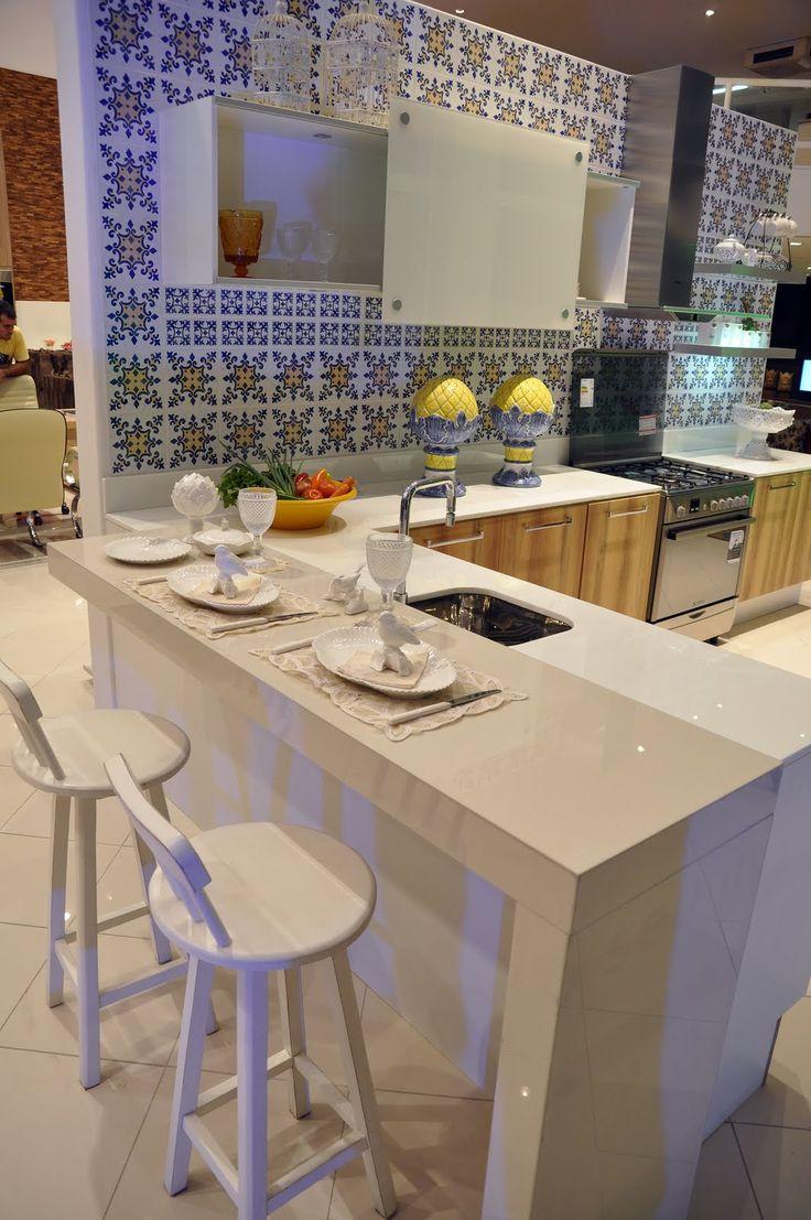 Bancadas para cozinha 1063 1600 cocinas modernas - Banquetas para isla ...