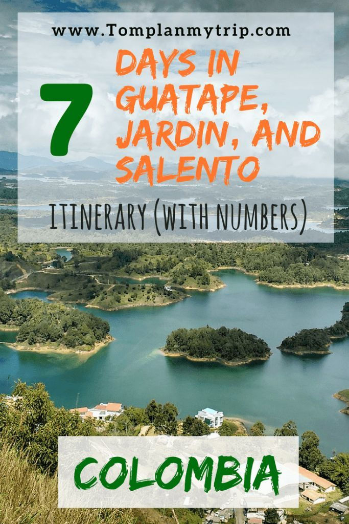 I wrote a three weeks Itinerary to help the social travelers to discover Colombia. For this second week, You will discover the colorful Guatape, Jardin and the famous Cocora Valley near Salento. Are you ready for the adventure? #Salento #Jardin #Guatape #Itinerary #Colombia