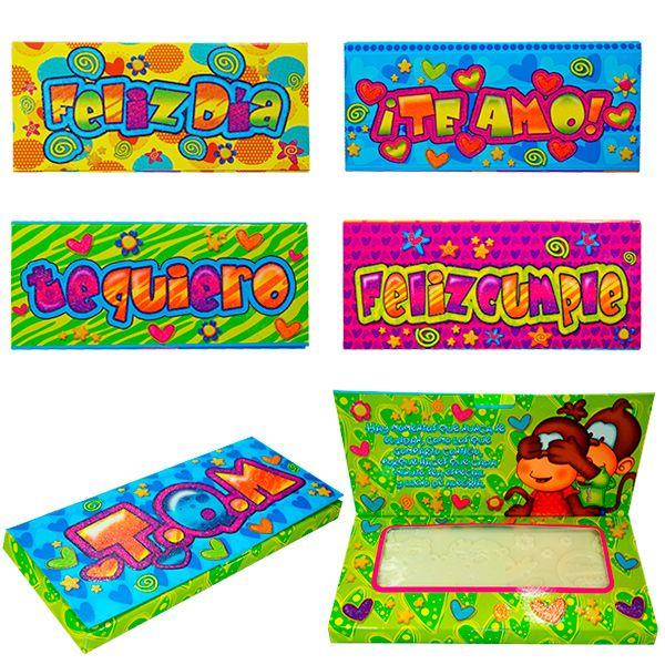 Expresión Social caja con chocolates $ 4.500 por cada una al por mayor.