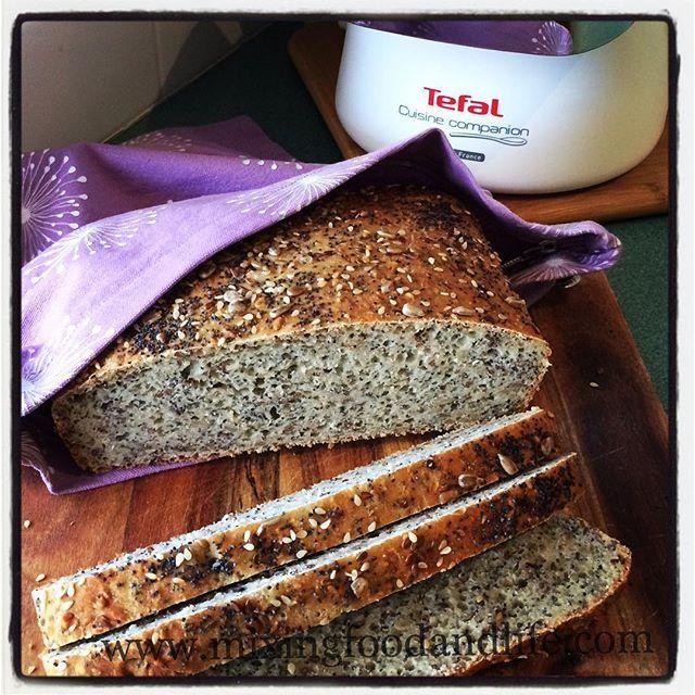 Tefal Cuisine Companion #thermoblitz #mixingfoodandlife #cuisinecompanion #tefalaustralia Seeded bread