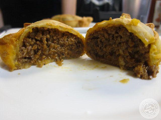 image of beef empanada at La Isla in Hoboken, NJ