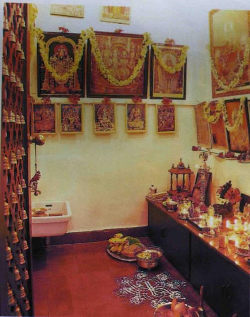 142 best pooja room images on pinterest pooja rooms for Indian ghar design
