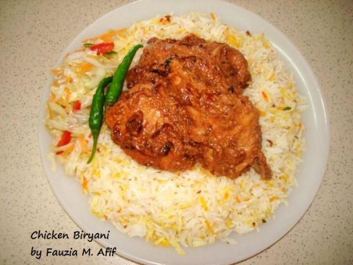 Chicken Biryani Fauzias Kitchen Fun Rice Meals Pinterest The Two The