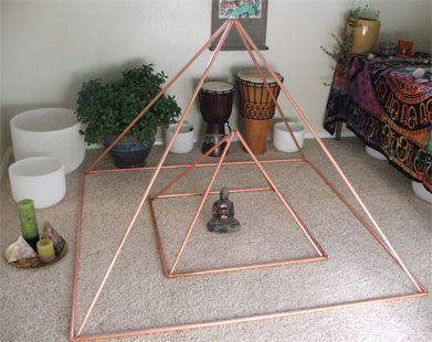 Power pyramids and metaphysical benefits. Wonderful, magical.