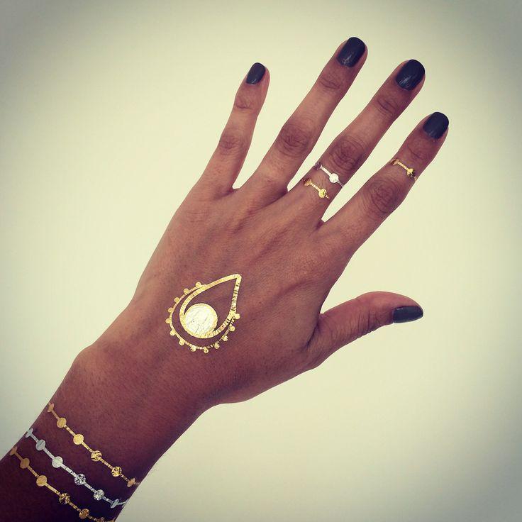Stay gold  TINTORETTA Gold Tattoo