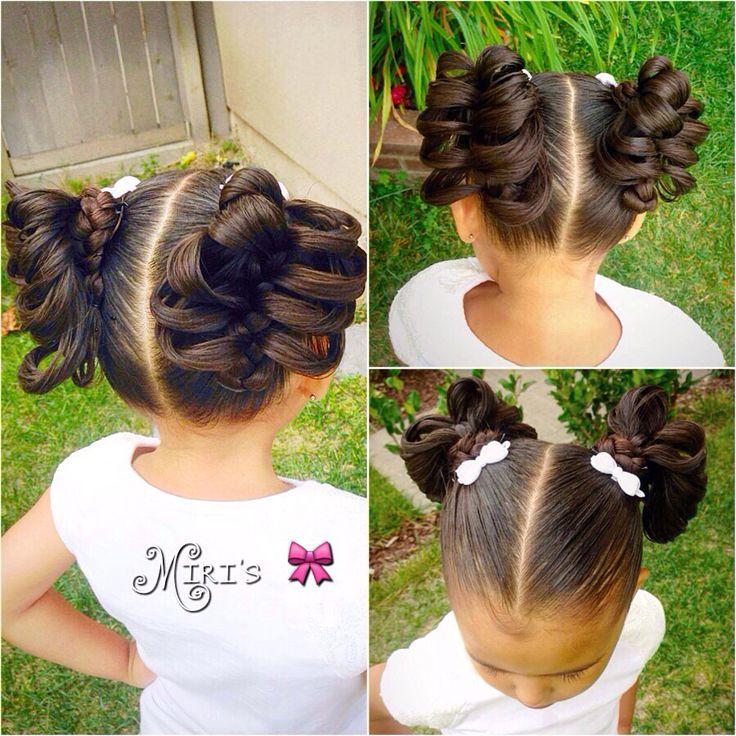 Amazing 188 Best Kids Updos Images On Pinterest Short Hairstyles Gunalazisus
