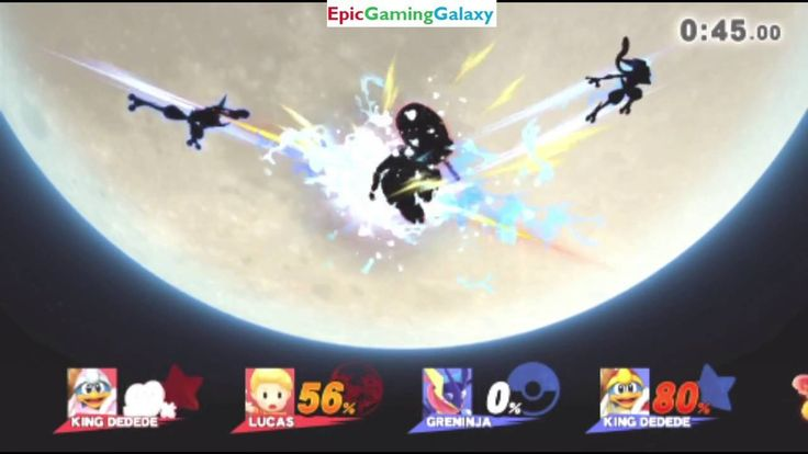 Super Smash Bros. For Wii U Online Team Battle #54 - King Dedede & Greninja VS Lucas & King Dedede This video showcases Gameplay Of King Dedede And Greninja The Pokemon VS King Dedede From The Kirby Series And Lucas From The EarthBound Series In A Super Smash Bros. For Wii U Online Team Battle #54
