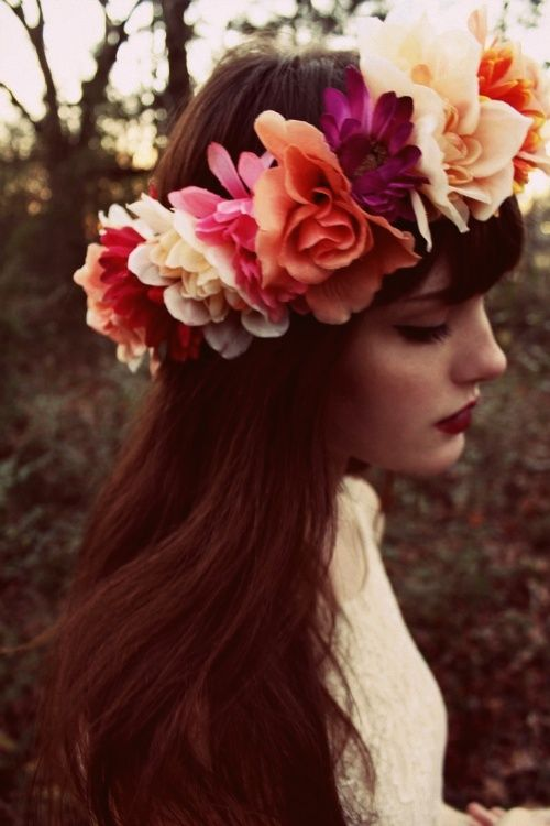 flower crown | Tumblr