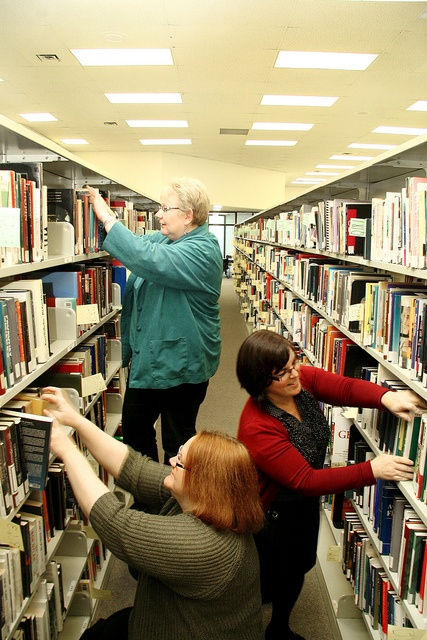 Main Library reshelving by Thompson Rivers, via Flickr  Thompson Rivers University in Kamloops, BC, Canada