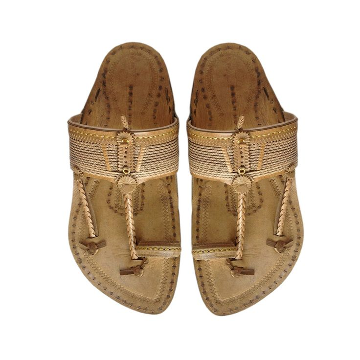 Authentic Shahu Kolhapuri Chappal for Men DLC-M-221 by kolhapurichappals on Etsy
