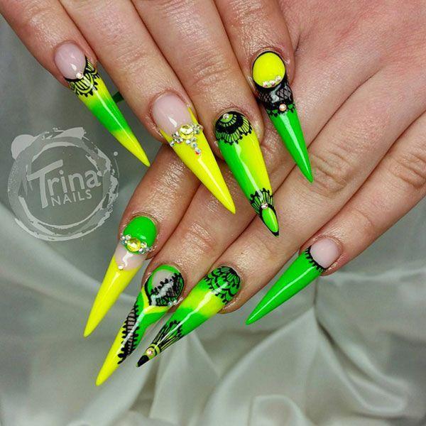 Mejores 16 imágenes de nails en Pinterest | Diseños artísticos en ...