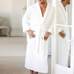 Unisex bath robe large The White Company at The Wedding Shop | Weddings | wedding ideas | wedding gift | wedding gifts for bride and groom | wedding gift ideas | wedding gift for couple | wedding presents | unique wedding gifts | wedding present ideas | wedding presents for couples | wedding gift list | bride | groom | wedding planning | inspiration | gift idea. Add to list >>> https://www.weddingshop.com/brand-landing/The-White-Company