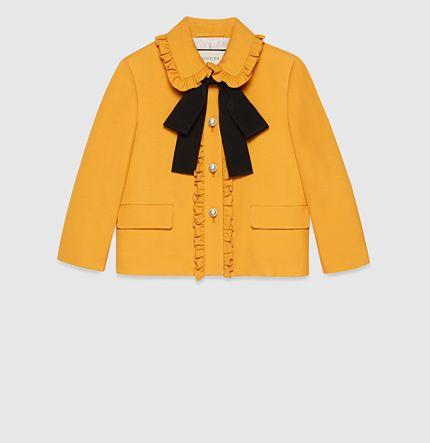 Gucci - veste en soie et laine 417366ZGM887900