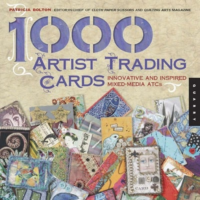 1000 Artist Trading Cards  A Publicação1000 Artist Trading Cards, autora Patricia Bolton