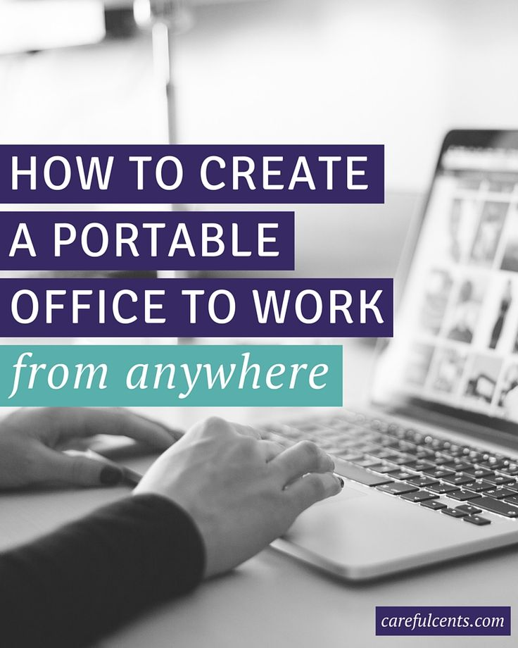 Want to work from anywhere and become a location independent freelancer? Here's how you can create a mobile office that travels with you and allows you to be ultra productive. Plus, get a free portable office checklist!