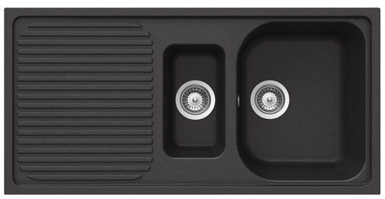 Bluci RUBUS-G 1.5 Bowl Black Granite Sink
